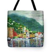 Bergen Harbor Tote Bag