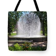Berger Fountain2 Tote Bag