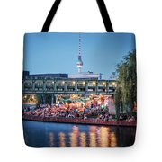 Berlin - Capital Beach Bar Tote Bag