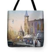Berlin Clock Tower Tote Bag
