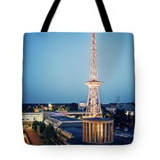 Berlin - Funkturm Tote Bag