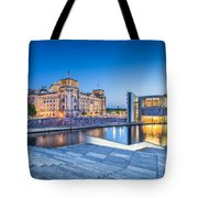 Berlin Government District Tote Bag