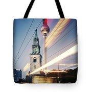 Berlin - Karl-liebknecht-strasse Tote Bag