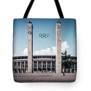 Berlin - Olympic Stadium Tote Bag
