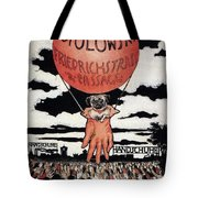 Berlin Potolowsky - Friedrichstrass Passage - Germany - Retro Travel Poster - Vintage Poster Tote Bag