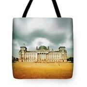 Berlin Reichstag Building Tote Bag