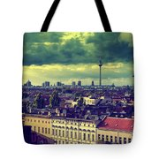 Berlin Roofscape Tote Bag