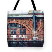 Berlin Street Art - Pull The Plug Tote Bag