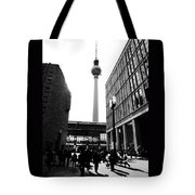Berlin Street Photography Tote Bag by Falko Follert