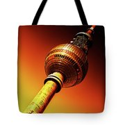 Berlin Television Tower - Berlin I Love You Tote Bag