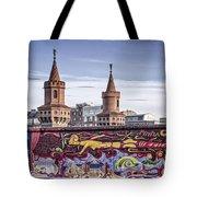Berlin Wall Tote Bag by Juergen Held