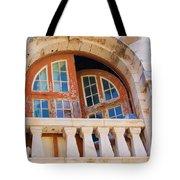 Bermuda Balcony Tote Bag