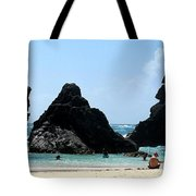 Bermuda Day At The Beach Tote Bag