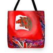 Bermuda Flags Tote Bag