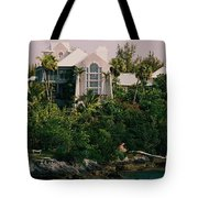 Bermuda Mansion Vision # 4 Tote Bag