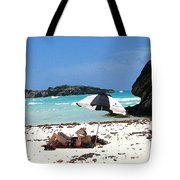 Bermuda On The Beach Tote Bag