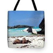 Bermuda On The Beach Tote Bag