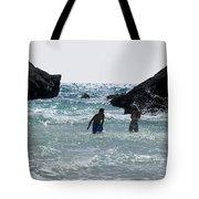 Bermuda Splash Tote Bag