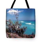 Bermuda Summer Shore Tote Bag