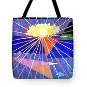 Bermuda Sunset Tote Bag