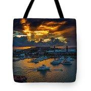 Bermuda Sunset Tote Bag