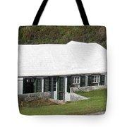 Bermudian Centuries Old Cottage  Tote Bag