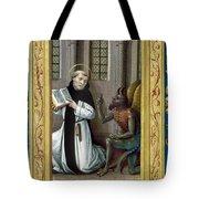 Bernard De Clairvaux Tote Bag