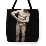 Bernarr Macfadden Tote Bag