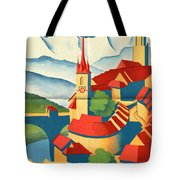 Berne Switzerland - Folded Tote Bag