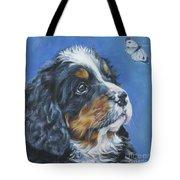Bernese Mountain Dog Pup Tote Bag