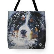 Bernese Mountain Dog Puppy Tote Bag