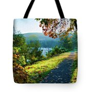 Bernharts Dam Fall 12-25 Tote Bag