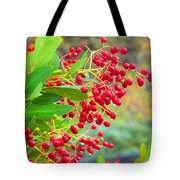 Berries Macro Tote Bag