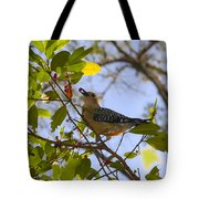 Berry Good Woodpecker Tote Bag