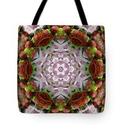 Berry Kaleidoscope Tote Bag