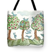 Berry Picking Tote Bag