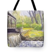 Beside The Dam Tote Bag