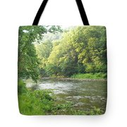 Beside The Still Waters Tote Bag