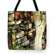 Beside The Wall Tote Bag