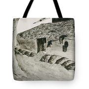 Beside The Watery Path Tote Bag