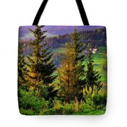 Beskidy Mountains Tote Bag