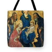 Besozzo: St. Catherine Tote Bag