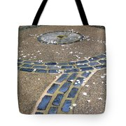 Bespeckled Walkway Tote Bag