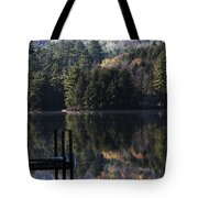 Best Chair At The Pond Tote Bag