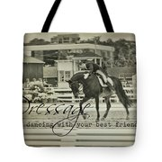 Best Friend Quote Tote Bag