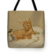 Best Of Friends Tote Bag by Ginny Youngblood