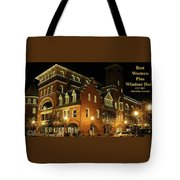 Best Western Plus Windsor Hotel - Christmas -2 Tote Bag