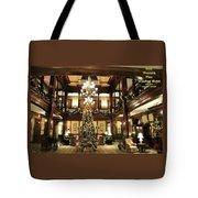 Best Western Plus Windsor Hotel Lobby - Christmas Tote Bag