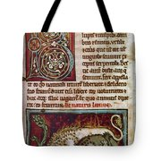 Bestiary: Lion Tote Bag