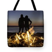Besties At Sunset Tote Bag